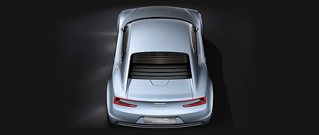 Audi e-tron spy