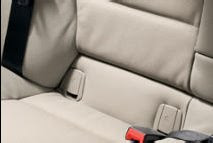 BMW 1 ISOFIX child seat attachment
