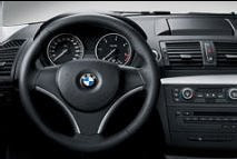 BMW 1 Leather sports steering wheel
