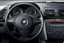 BMW 1 Standard steering wheel