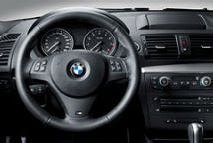 BMW M leather steering wheel