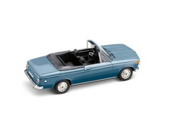 BMW 1600 Cabriolet blue miniature