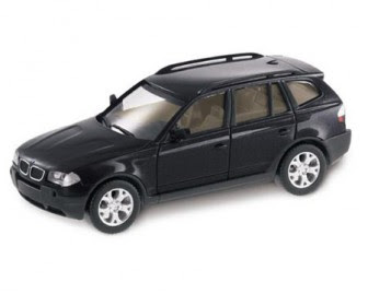 miniature BMW X3 Black Sapphire