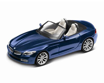 Roadster BMW Z4 Deep-sea blue miniature