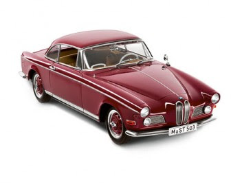 BMW 503 Coupé red miniature