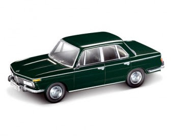 1966 BMW 2000 Sedan black miniature