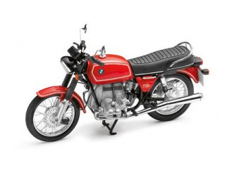 BMW R 75/6 red miniature