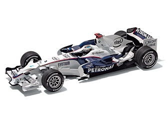 BMW Sauber F1 Race Car Nick Heidfeld miniature