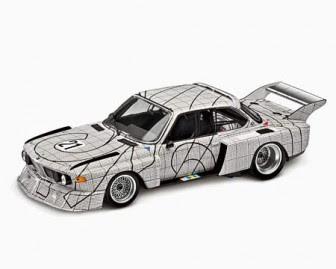 BMW 3.0 CSL Frank Stella miniature