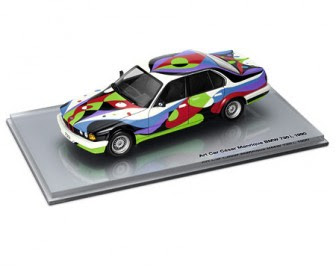 Art Car César Manrique BMW 730i, 1990 miniature