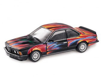 Art Car Ernst Fuchs BMW 635 Csi, 1982 miniature