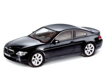 BMW 6 Coupé Black miniature