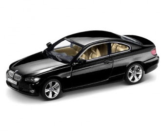 miniature BMW 3 E92 Black