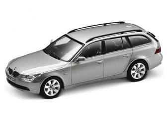 BMW 5 Touring Titanium Silver miniature