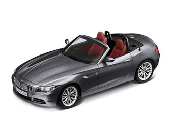 BMW Z4 retractable hardtop miniature