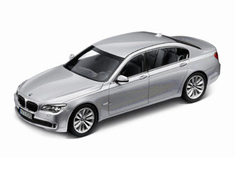 new BMW 750i Grey miniature