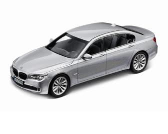 new BMW 750i Grey miniature