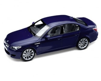 BMW M5 E60 Blue miniature