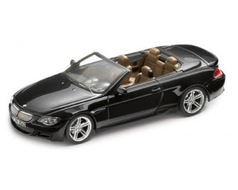 BMW M6 E64 Convertible Black miniature