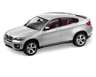 miniature BMW X6 E71 Titanium Silver
