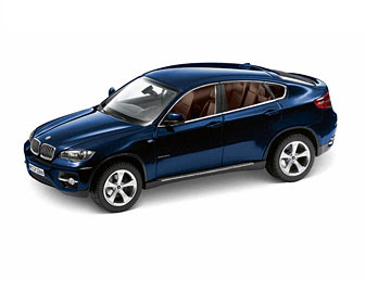 BMW X6 xDrive 50i E71 Blue miniature