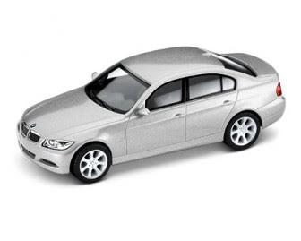 BMW 3 Series (E90) Titanium silver miniature