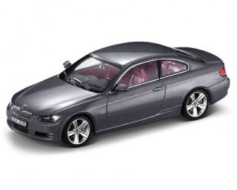 BMW 3 Series E92 Grey Metal miniature