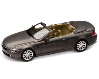 BMW 6 Series Stratus Grey miniature