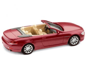 BMW 6 Series Chiaretto Red miniature