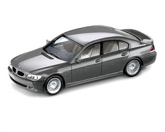 BMW 7 Series LCI E65 grey miniature