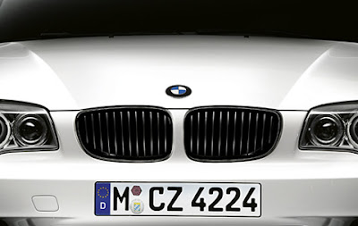 BMW Front grille in Black high-gloss