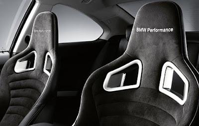 BMW sport seats