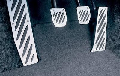 BMW Aluminium pedals