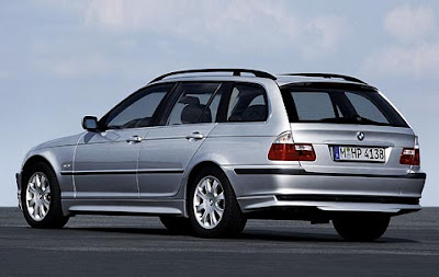 Aerodynamic kit for BMW 3 Series Touring