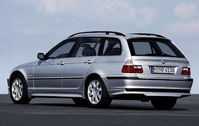 Aerodynamic kit for BMW 3 Series Touring