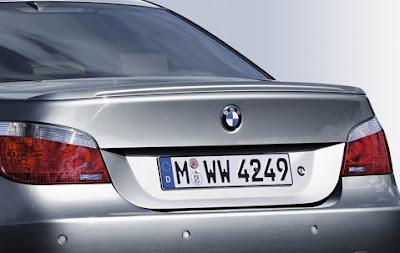 BMW M Sport rear spoiler