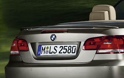 BMW Rear spoiler in body colour