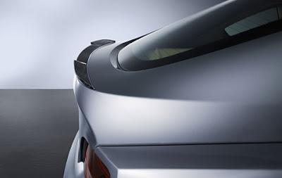 Rear spoiler in carbon BMW Z4 Coupé