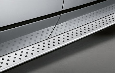 BMW X5 Aluminium running board