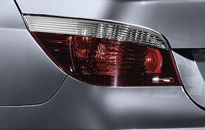 Dark line rear lights BMW 5 Saloon