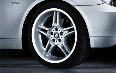 BMW 5 Double spoke 125 – wheel, tyre set