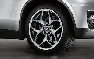 BMW X6 complete wheel and tyre set