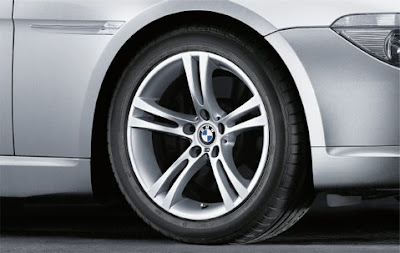 BMW 6 wheel, tyre set M double spoke 184