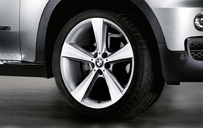 BMW X5 complete wheel and tyre set