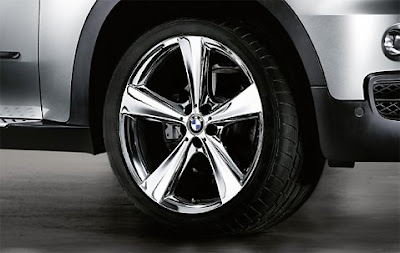 BMW X5 Star spoke 128 in chrome