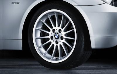 BMW 5 Radial spoke 32 – wheel, tyre set