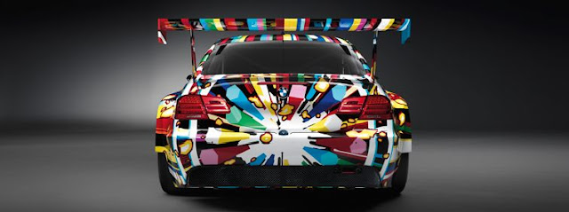 bmw art car designed by jeff koons