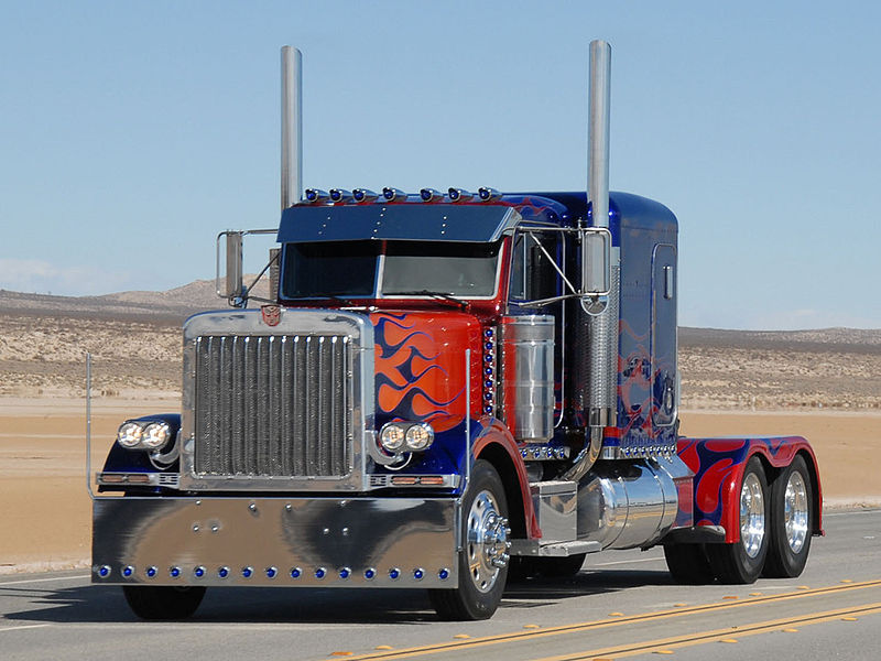 The Kelley Blue Book for Super Heroes: Optimus Prime Truck ...