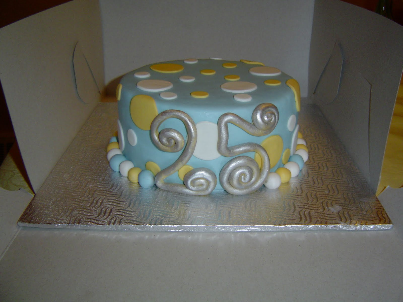 Pictures of 25Th Anniversary Cakes http://cakes-by-jess.blogspot.com/2010/05/25th-anniversary-cake.html