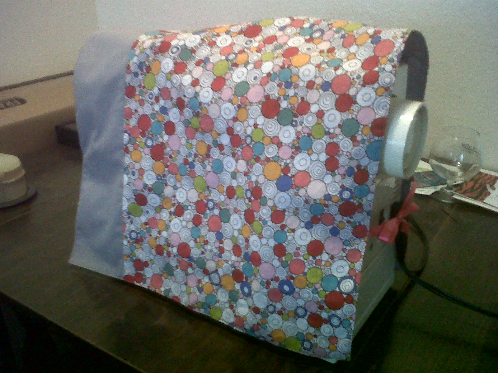 Crafteroonie diy sewing machine cover